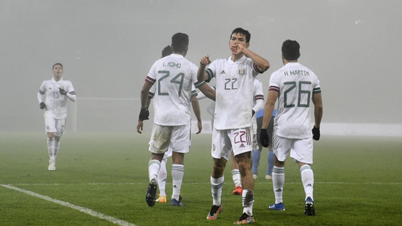 Selección Mexicana partidos amistosos