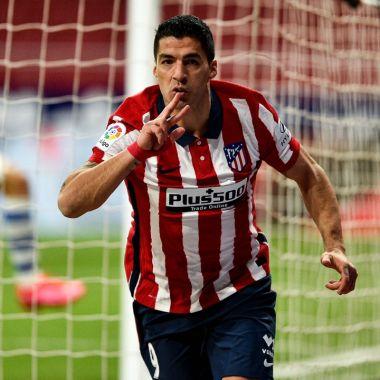 Luis Suárez 500 goles como profesional