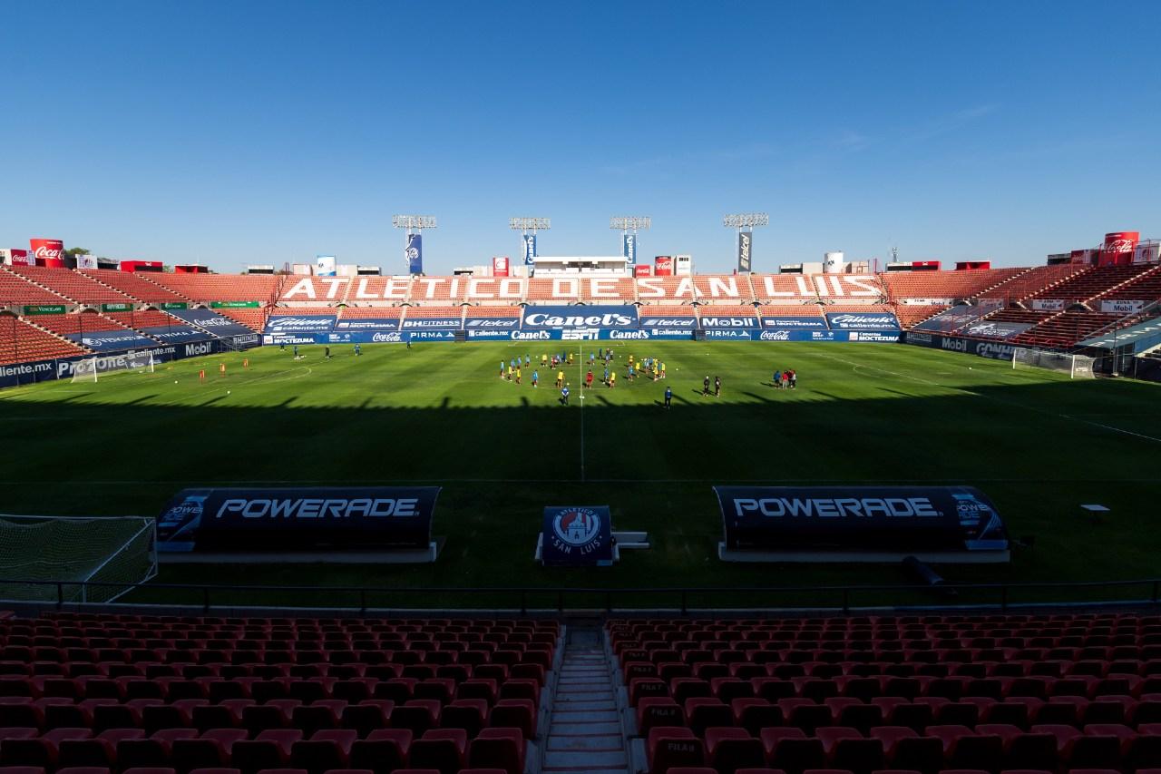 Atlético San Luis público Alfonso Lastras Puebla