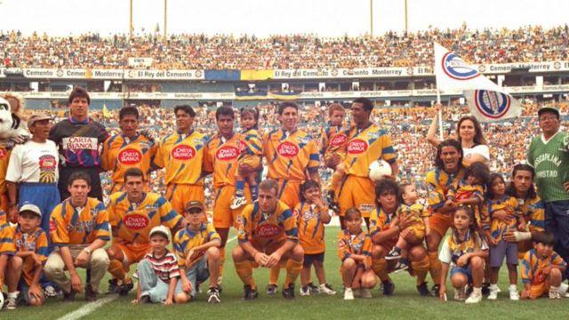 Clásico Regio Tigres descenso Monterrey 1996