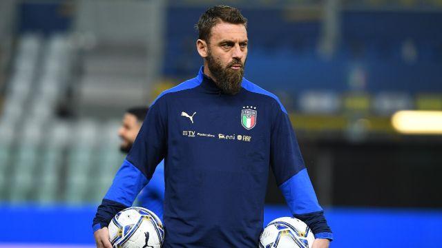 Daniele De Rossi se encuentra hospitalizado por COVID-19