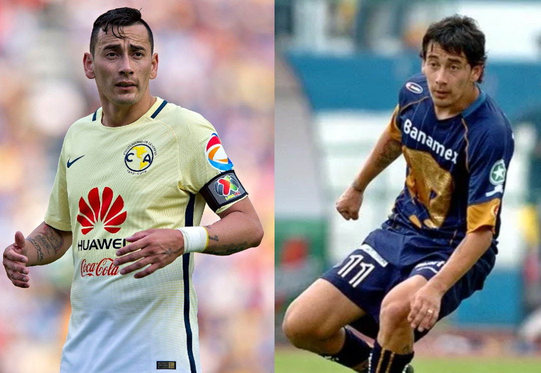 América Pumas jugadores ambos equipos Rubens Sambueza
