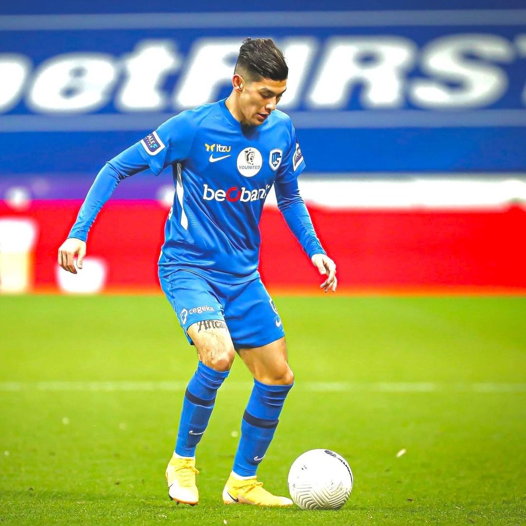 Gerardo Arteaga mexicano Copa Bélgica Genk