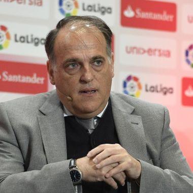 Javier Tebas Superliga Europea ridículo Florentino