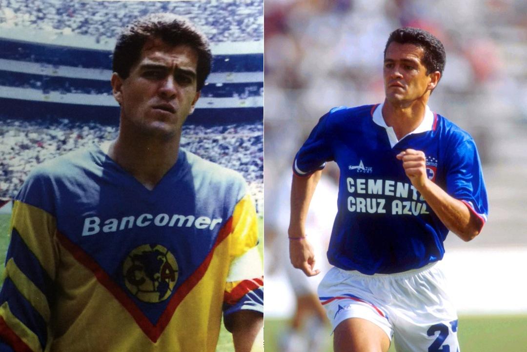 América Cruz Azul jugadores equipos Carlos Hermosillo