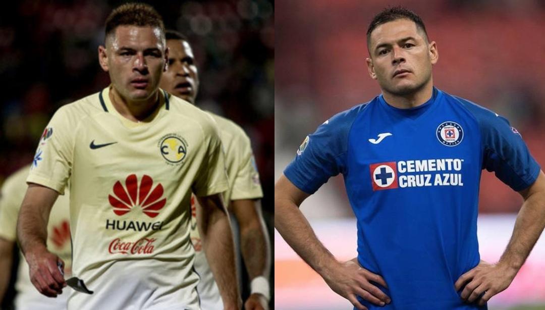 América Cruz Azul jugadores equipos Pablo Aguilar