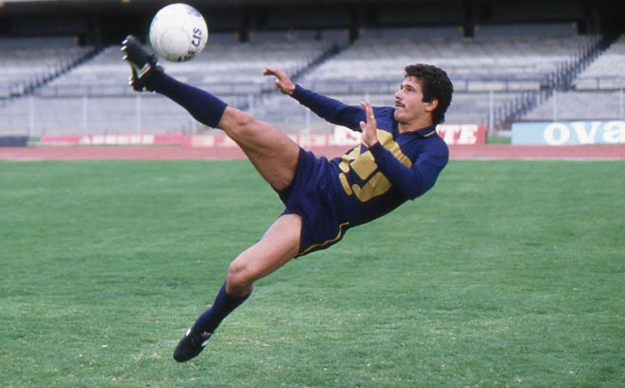 'Tuca' Ferretti como jugador pumas toluca