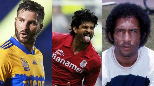 Liga MX máximos goleadores históricos clubes futbol mexicano
