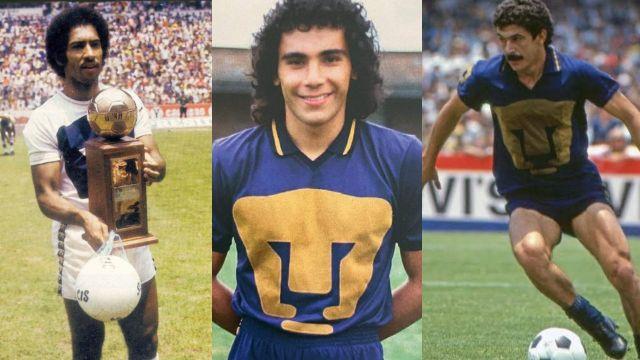 Pumas máximos goleadores cinco en la historia UNAM