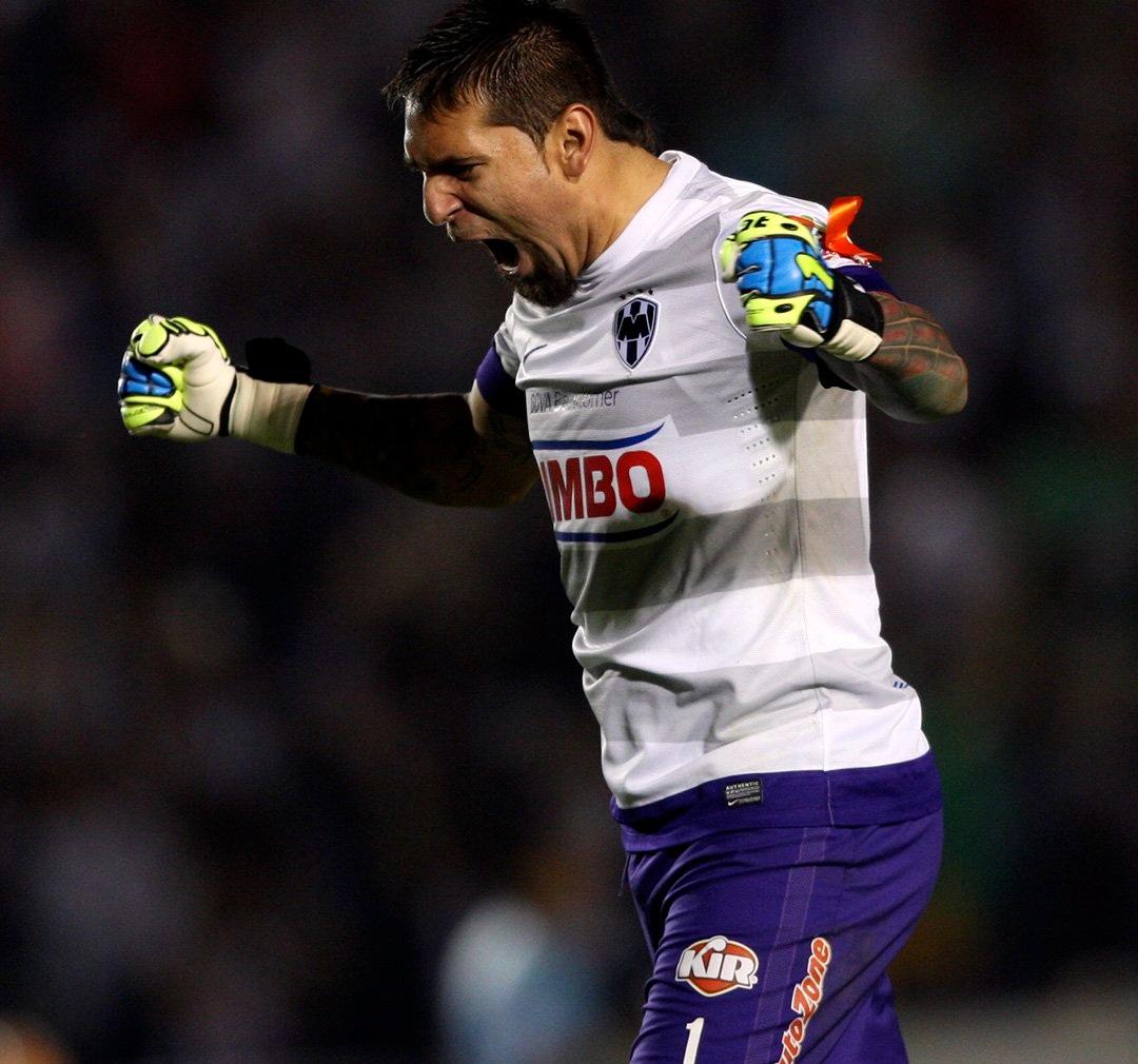 Rayados jugadores más partidos Monterrey Jonathan Orozco