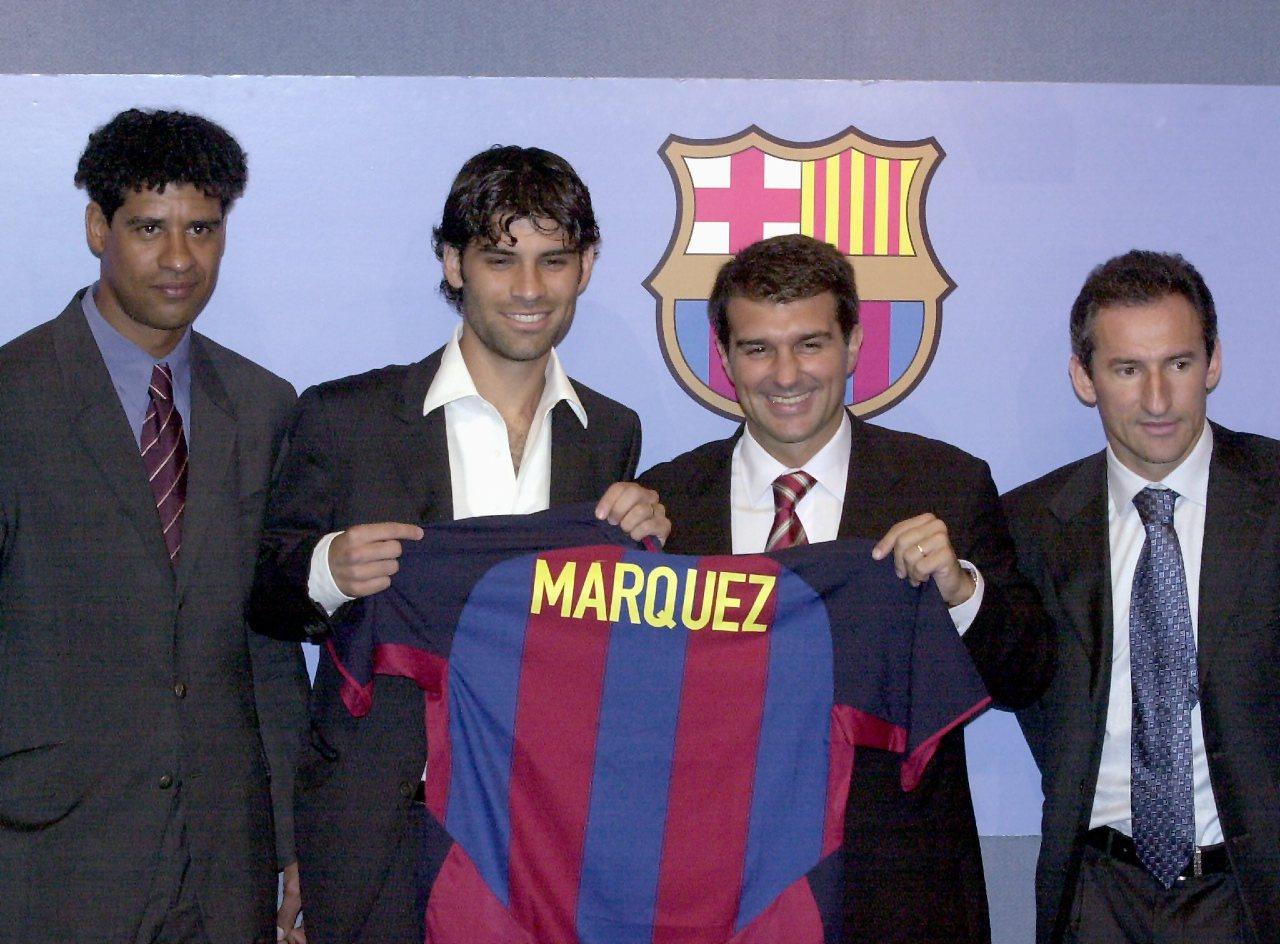 Rafa Márquez Barcelona entrenador La Masía