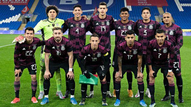 Selección Mexicana islandia partido estados unidos fecha