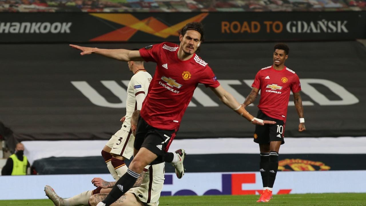 Manchester United goleada Roma Europa League semifinal