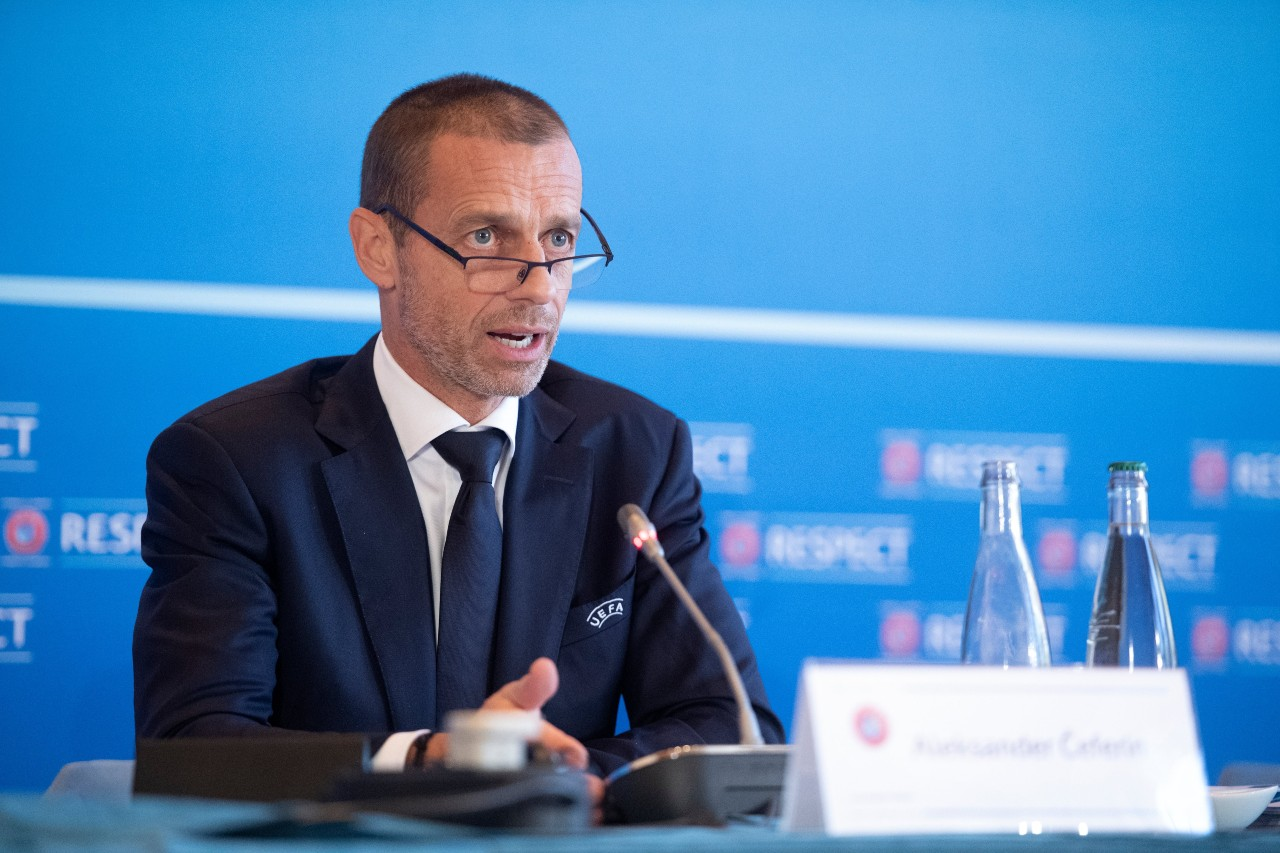 UEFA nuevo formato Champions League 2024 Superliga