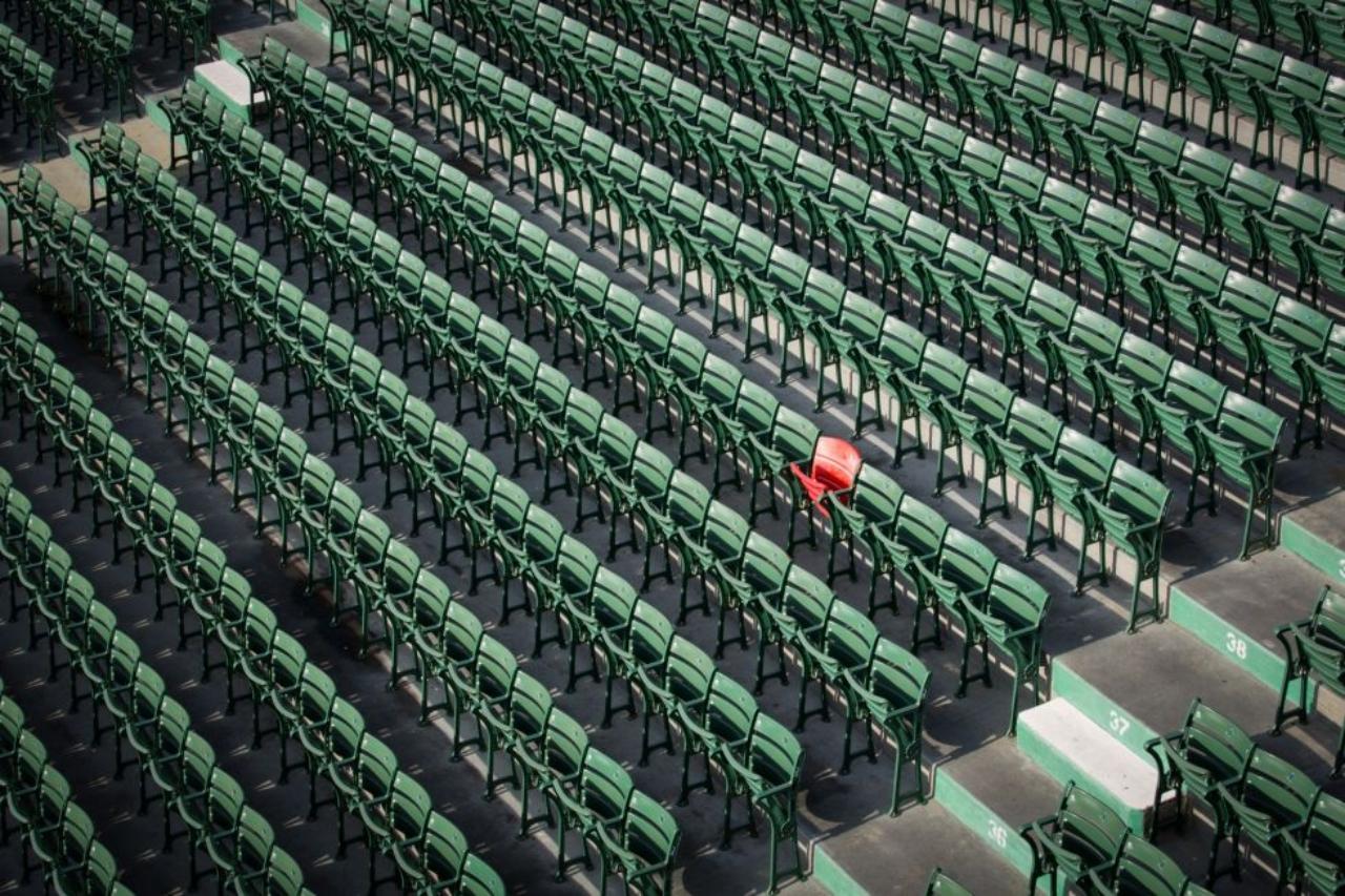 Asiento de la MLB Fenway Park