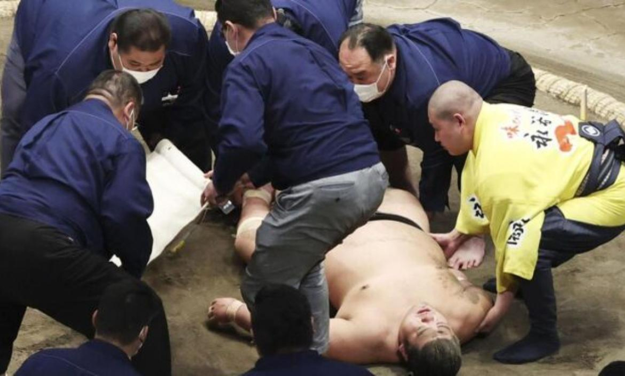 Hibikiryu muere tras golpe en la cabeza