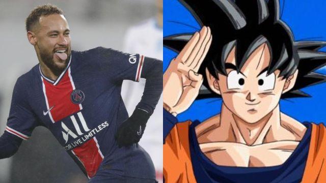 Neymar y su tatuaje de Dragon Ball
