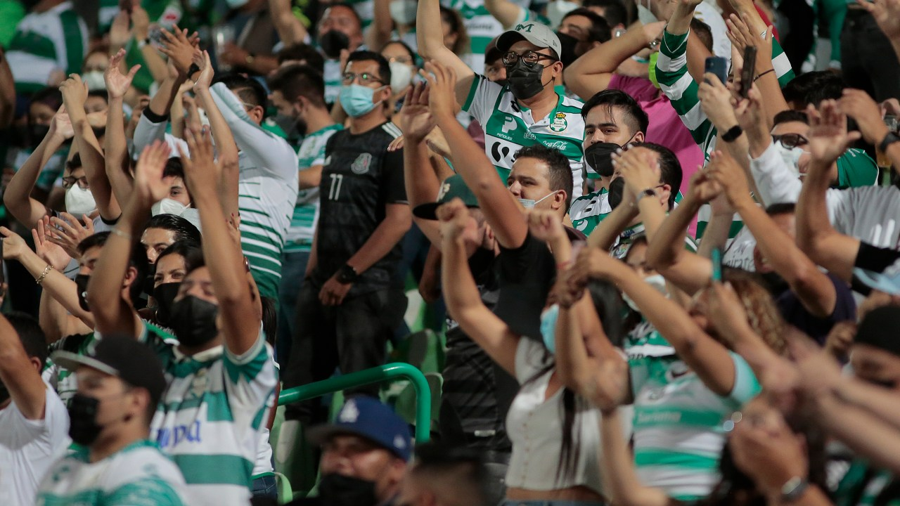 Aficionados Santos violencia pase final