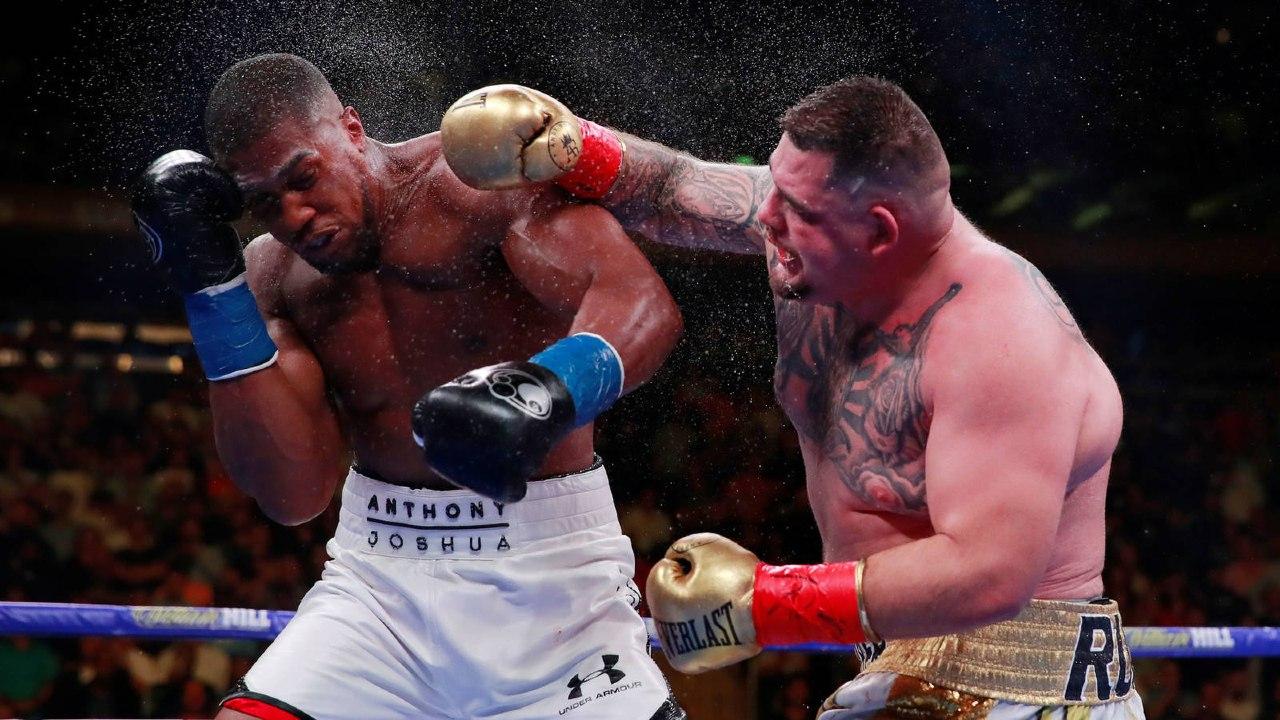 Andy Ruíz Anthony Joshua pelea tercera combate