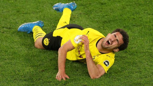 Mateu Morey lesión Borussia Dortmund pokal