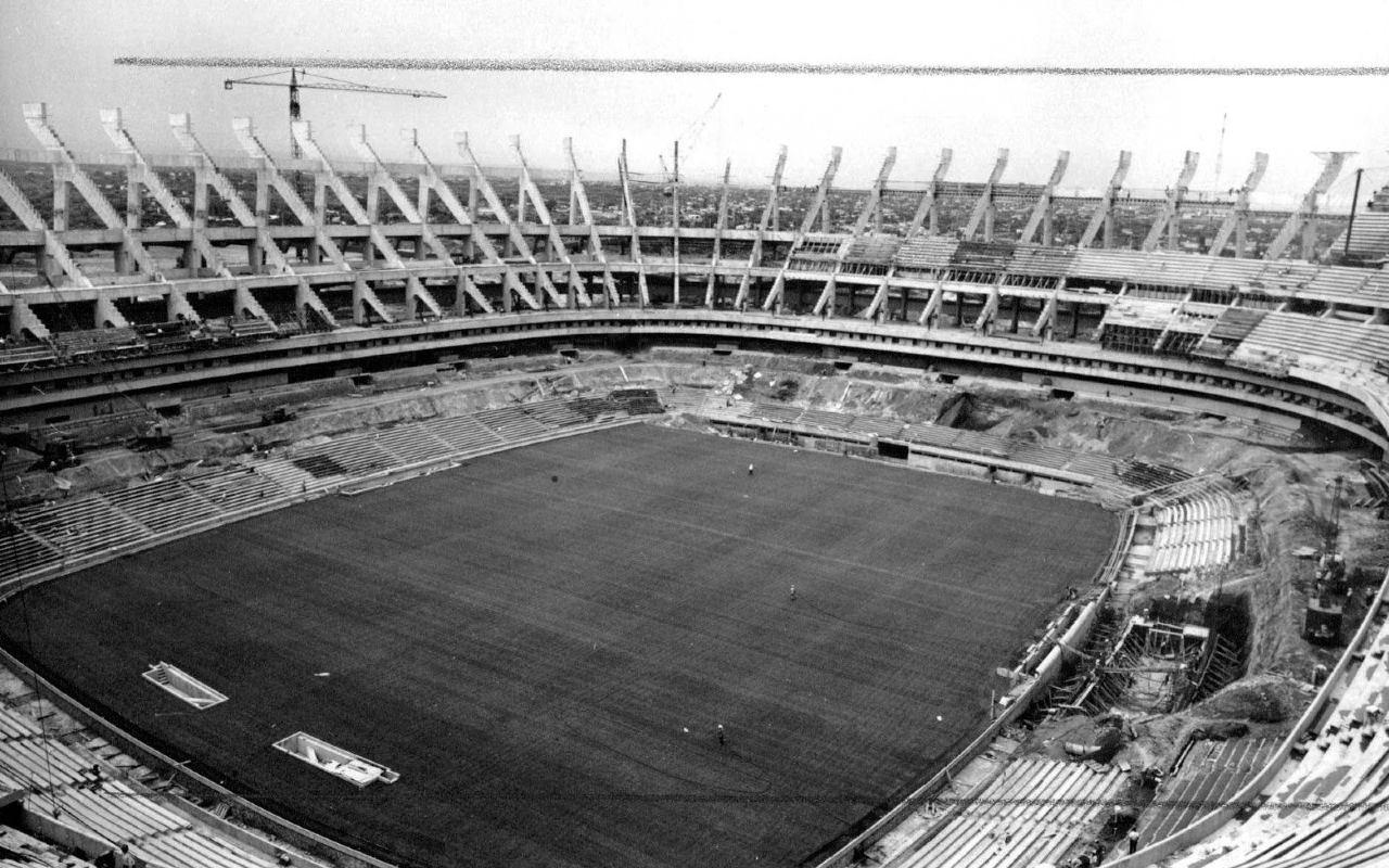 Inauguración Estadio Azteca 1966