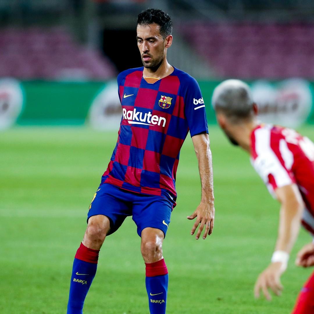 Barcelona jugadores más partidos Sergio Busquets