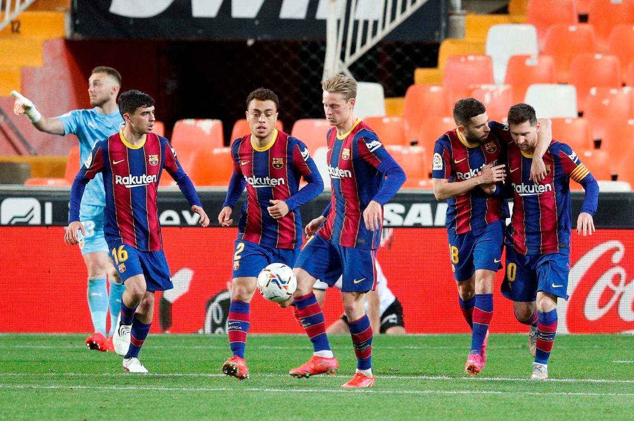 Barcelona Valencia victoria LaLiga