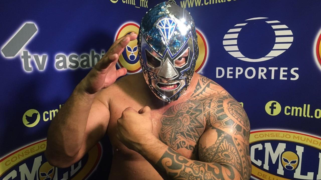 Diamante Azul luchador CMLL arena méxic lucha libre