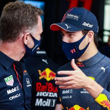 Red Bull felicita Checo Pérez Monaco
