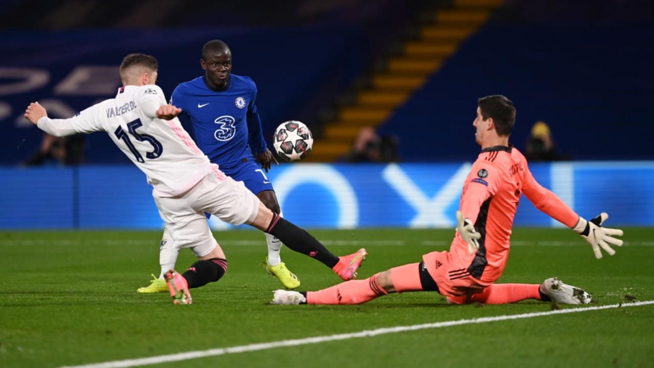 Kanté oportunidad gol Chelsea Real Madrid