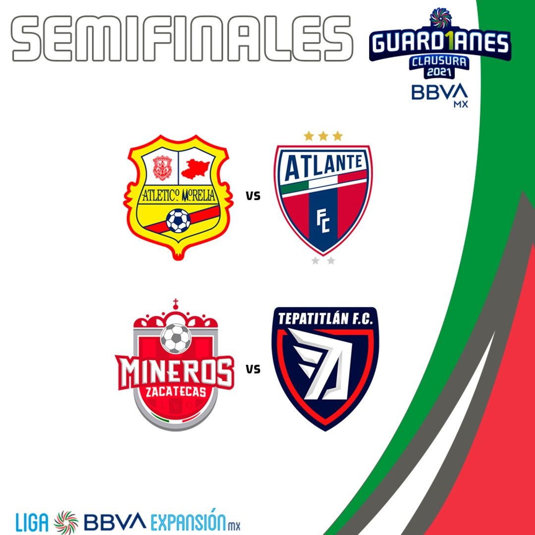 Liga Expansión MX semifinales Guard1anes 2021