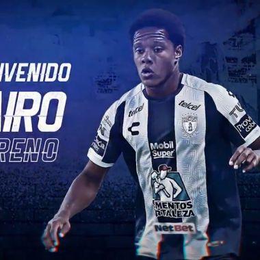Liga BBVA MX: Pachuca anuncia el fichaje de Yairo Moreno
