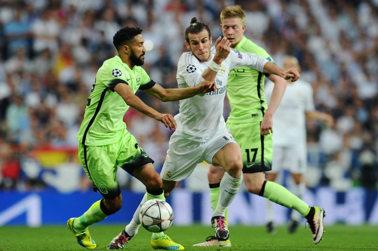 Manchester City y Real Madrid  champions league 2016 semis