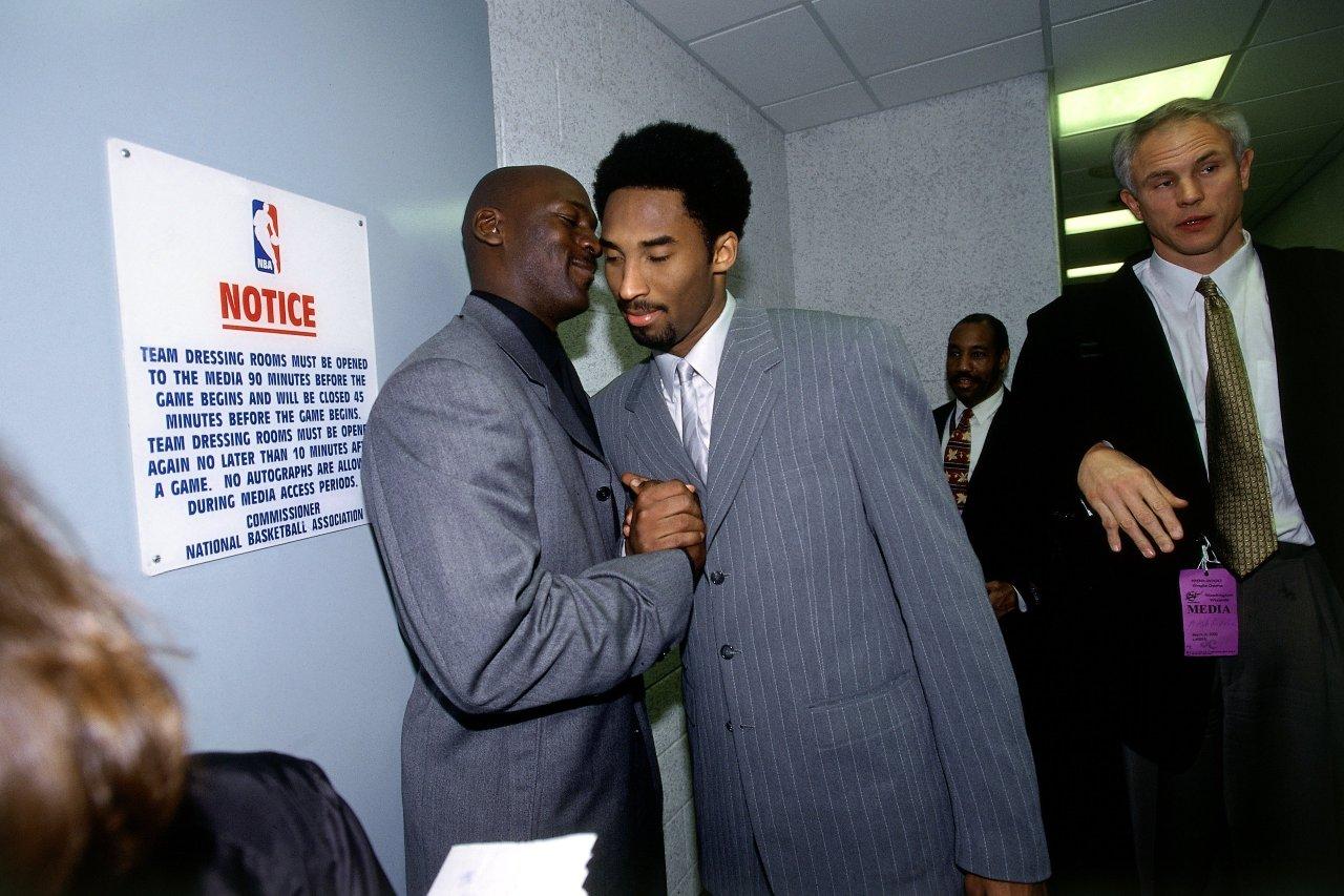 Michael Jordan mensajes Kobe Bryant