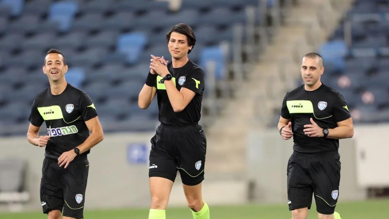 Sapir Berman árbitra trans primera futbol