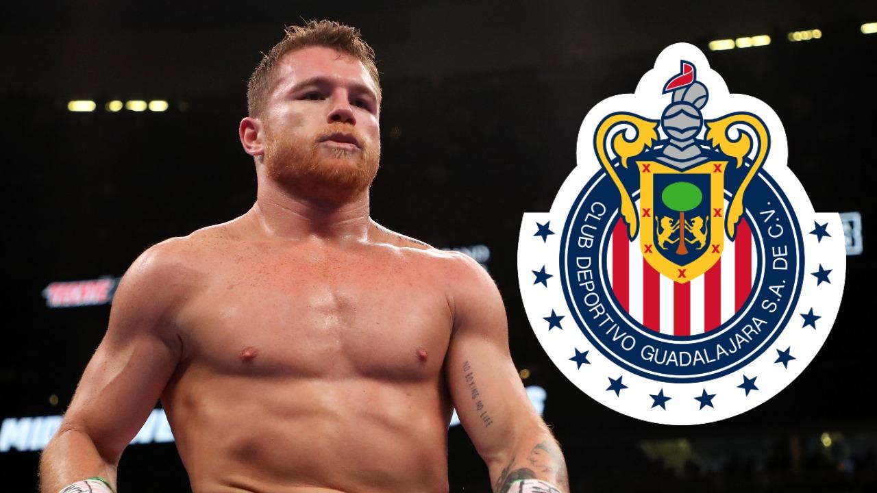 Saúl 'Canelo' Álvarez chivas de guadalajara box liga mx