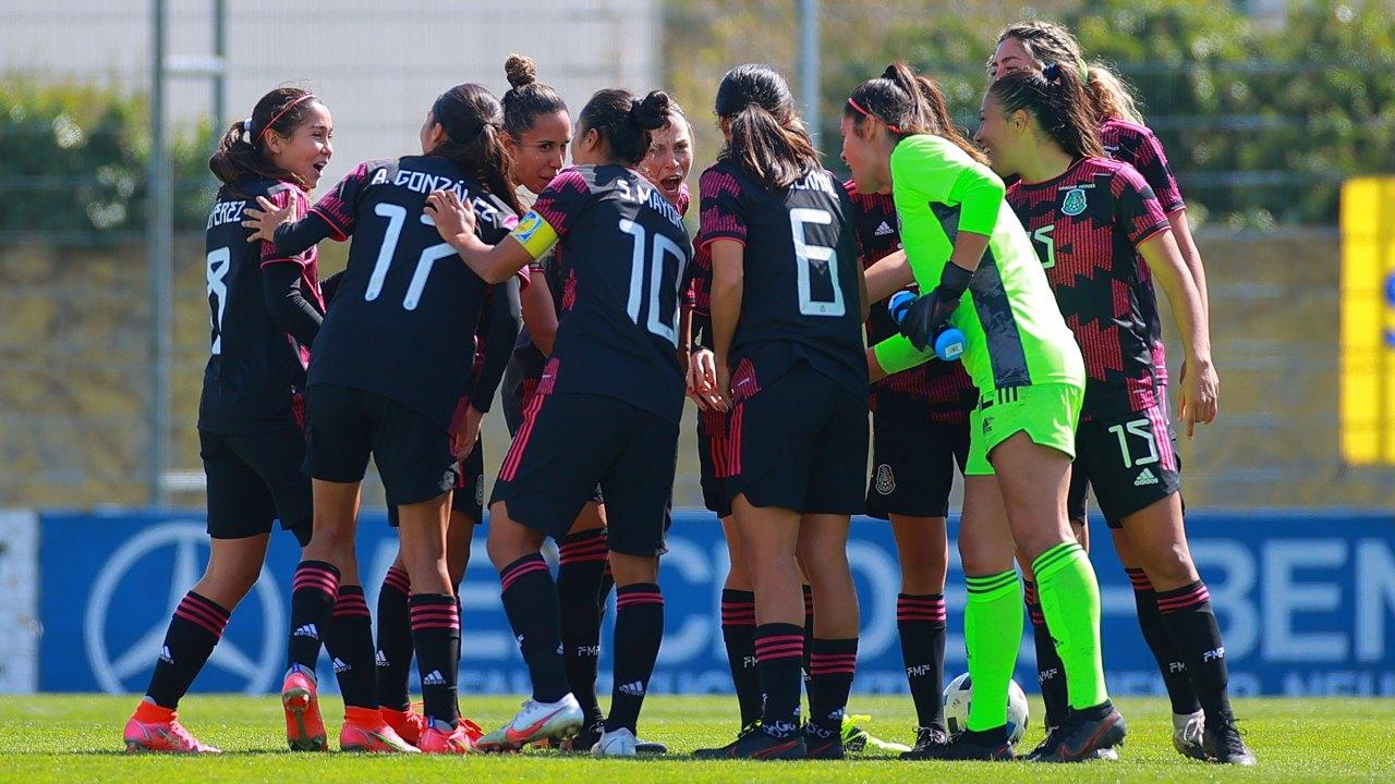 Selección Mexicana Femenil amistosos partido estados unidos