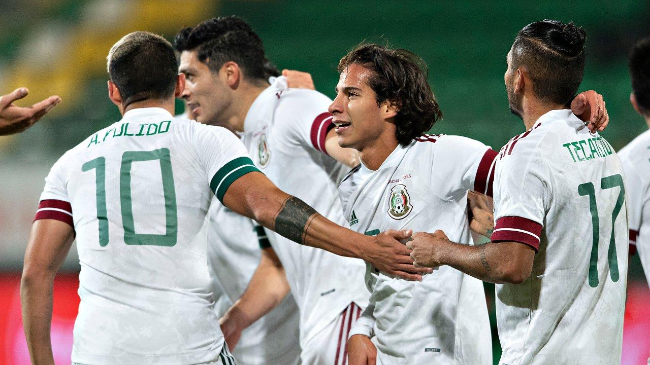 Selección Mexicana convocatoria Nations League