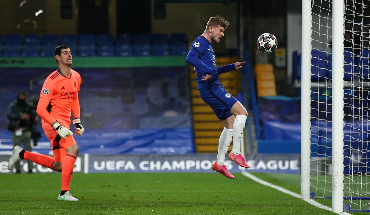 Chelsea gol Timo Werner Real Madrid
