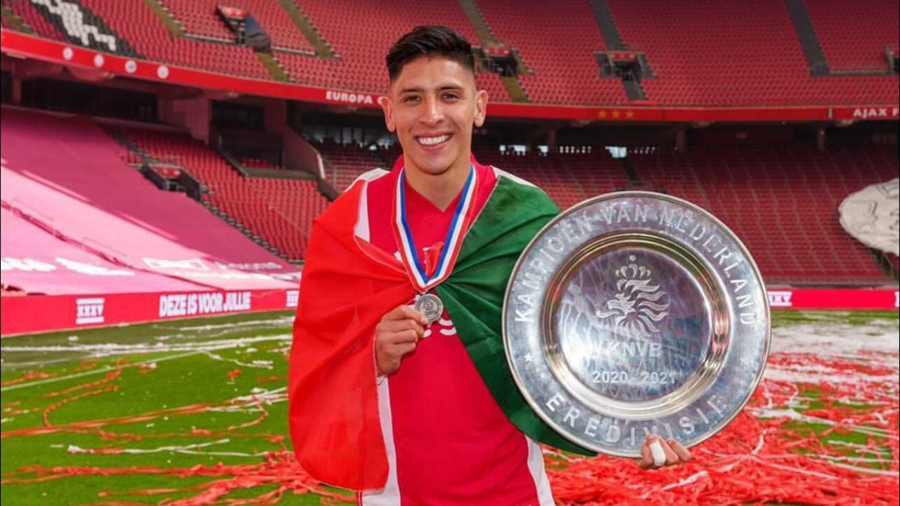 Edson Álvarez nominado jugador del año