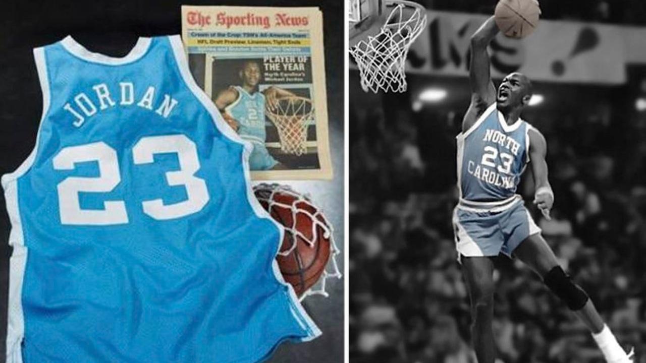 Michael Jordan playera north carolina