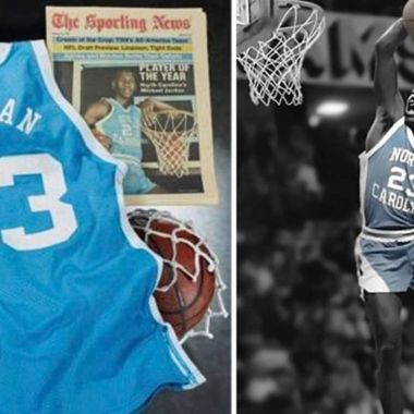 Michael Jordan playera north carolina