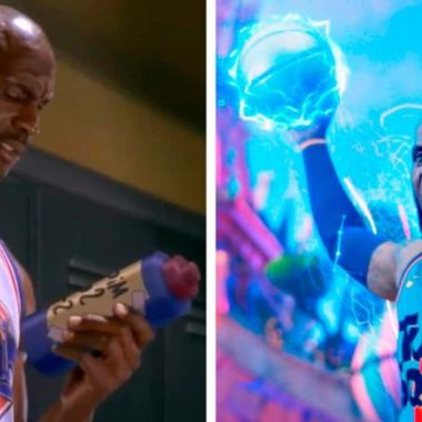 Michael Jordan space jam 2