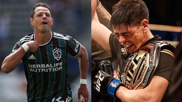 Chicharito inspiración Brandon Moreno campeón UFC