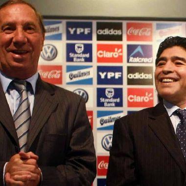 diego armando maradona carlos bilardo argentina futbol