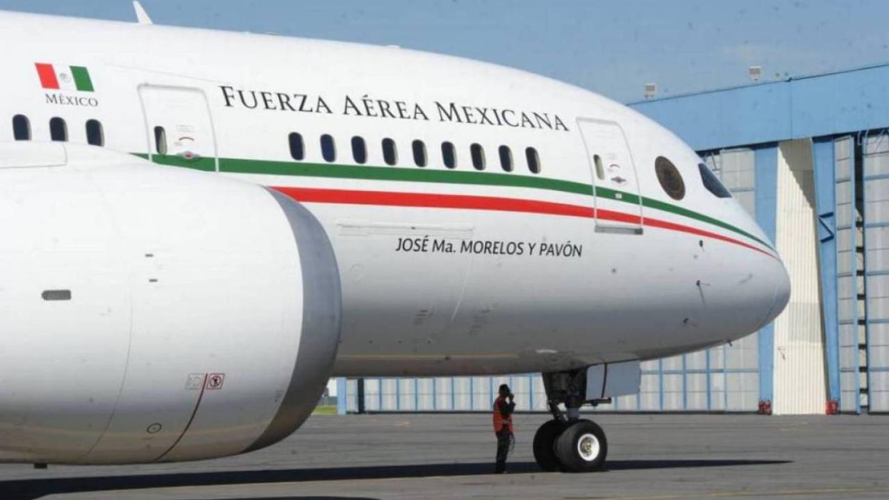 Avión presidencial COM rechaza viaje