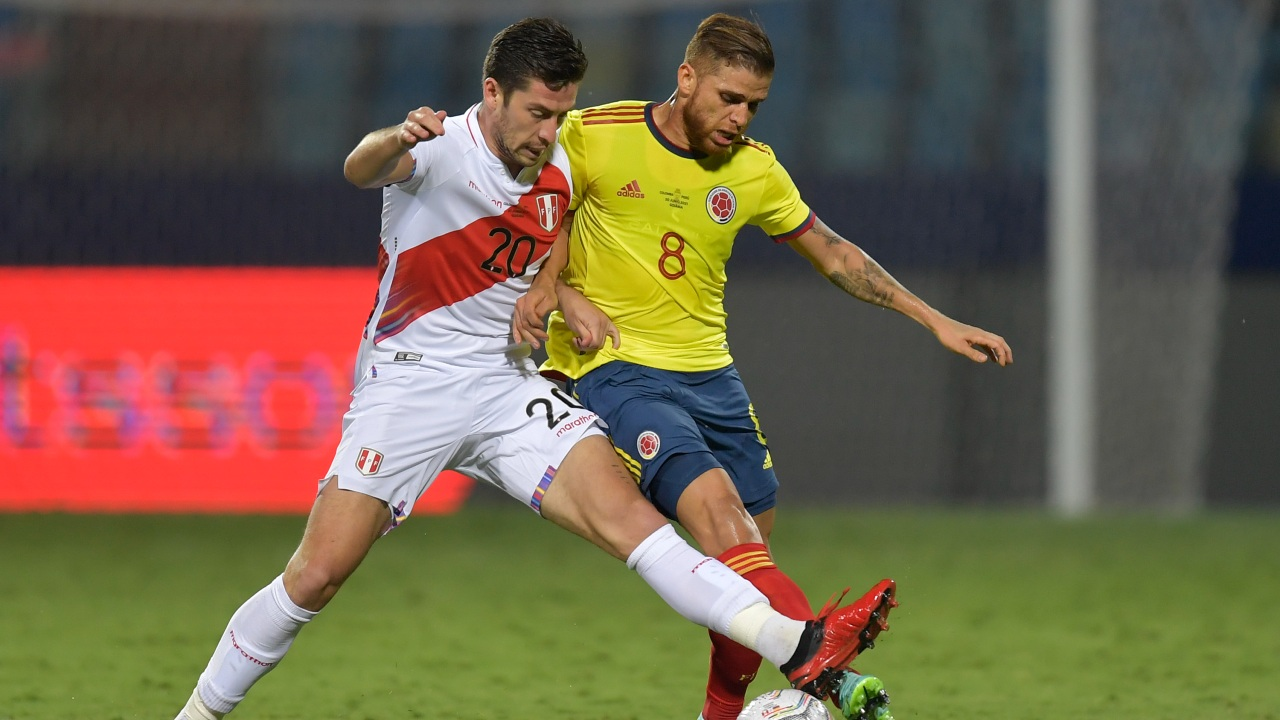 santiago ormeño perú copa américa 2021