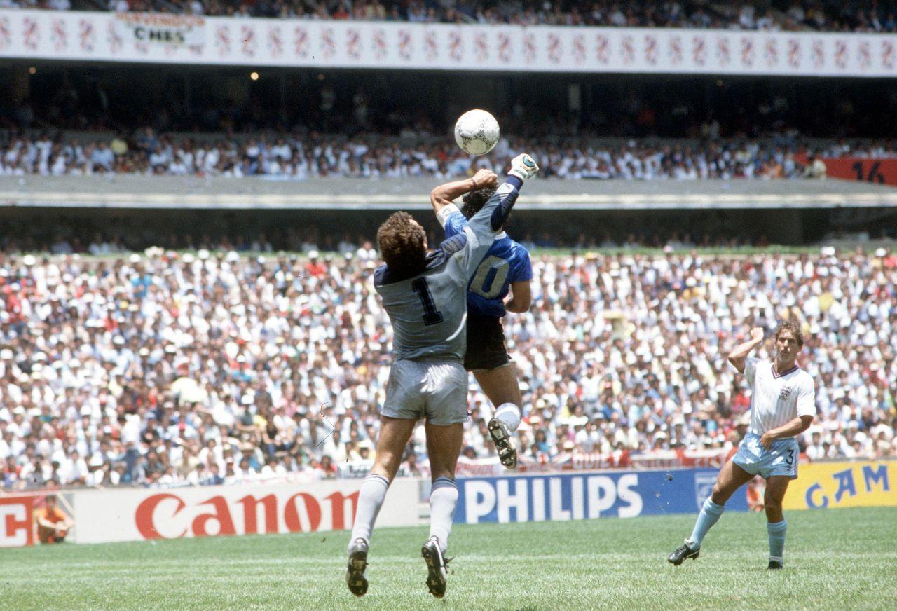 Maradona gol México 86