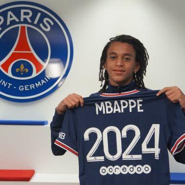 Ethan Mbappe, Kylina psg paris futbol