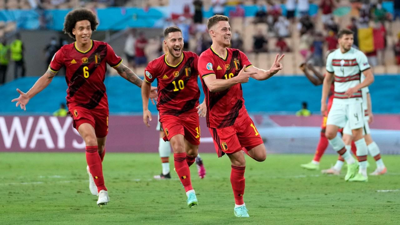 Eurocopa 2020: Bélgica vence a Portugal por la mínima y obtiene su boleto a cuartos